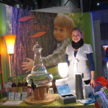 Hjørdis og BALDRON på Alternativmessen på Lillestrøm 2011.