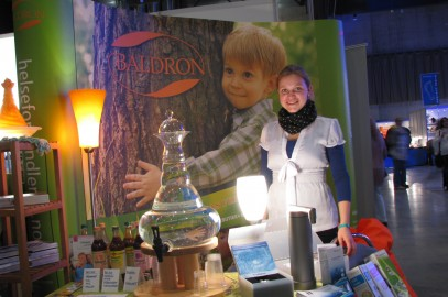 Green Living – Baldron i teamwork på Alternativmessen
