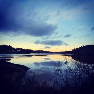 Årungen_solnedgang