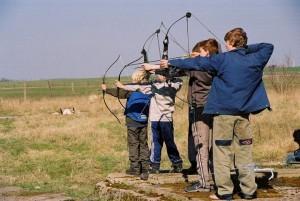 Üben der Bogenschützen1