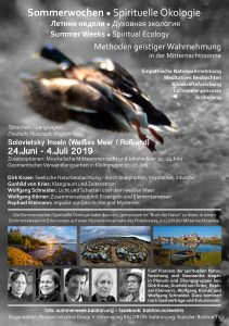 Summer Weeks Spiritual Ecology / Sommerwochen / Sommeruker @ Solovietsky  | Meløy | Nordland | Norge