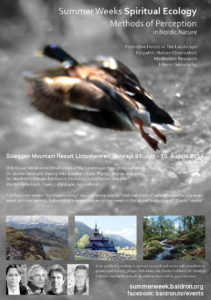 Summer Weeks Spiritual Ecology / Sommerwochen / Sommeruker @ Soleggen Fjellstue | Oppland | Norge